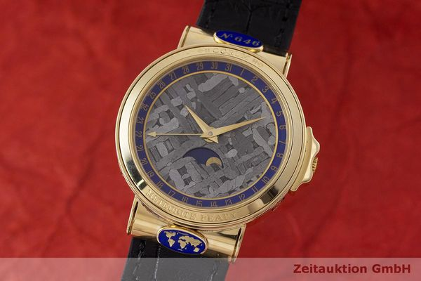 CORUM METEORITE 18 CT GOLD AUTOMATIC [162923]
