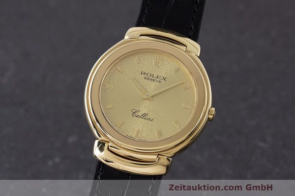 ROLEX CELLINI ORO 18 CT QUARZO KAL. 6620 LP: 8200EUR [162924]