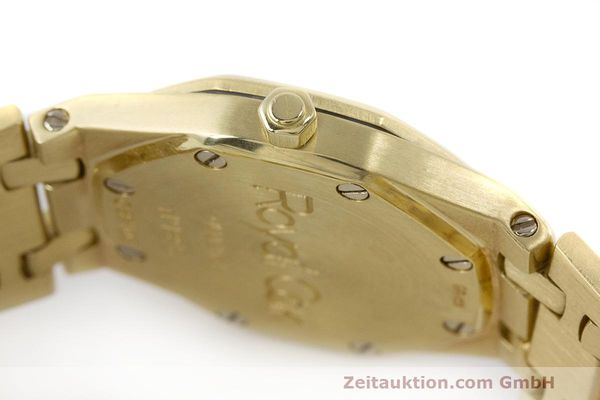 gebrauchte Luxusuhr Audemars Piguet Royal Oak 18k Gold Quarz Ref. C87103  | 162926 08