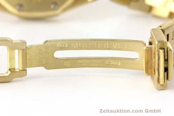 gebrauchte Luxusuhr Audemars Piguet Royal Oak 18k Gold Quarz Ref. C87103  | 162926 12
