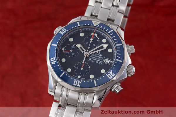 OMEGA SEAMASTER CHRONOGRAPH STEEL AUTOMATIC KAL. 1164 LP: 4800EUR [162935]
