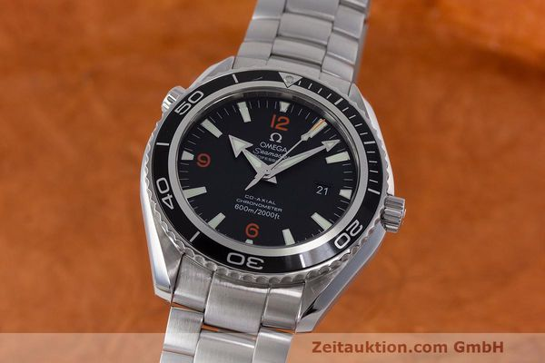 OMEGA SEAMASTER PLANET OCEAN CO AXIAL STAHL HERRENUHR 22005100 VP: 4800,- EURO [162941]