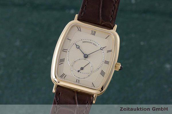 BREGUET CLASSIQUE 18 CT GOLD MANUAL WINDING KAL. 818/4 LP: 13900EUR [162942]