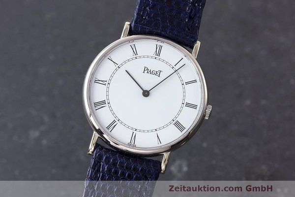 PIAGET 18 CT WHITE GOLD MANUAL WINDING KAL. 9P2 [162945]