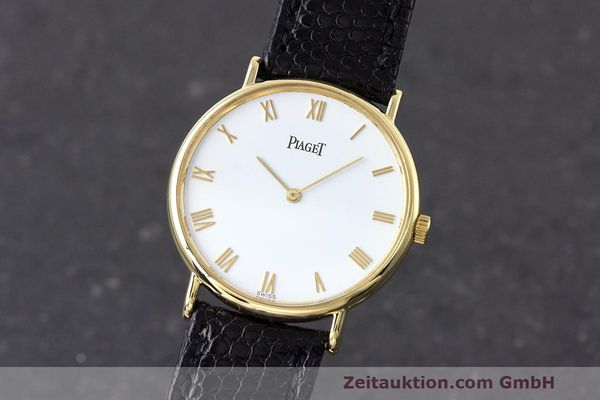 PIAGET 18 CT GOLD QUARTZ KAL. 857P [162947]