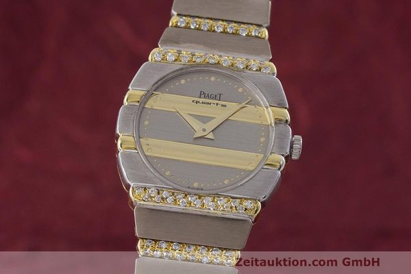 PIAGET LADY 18K (0,750) GOLD POLO DIAMANTEN DAMENUHR 861C701 VP: 61000,- Euro [162979]