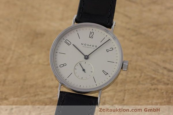 NOMOS TANGENTE STEEL MANUAL WINDING KAL. ETA 7001 LP: 1380EUR [162987]