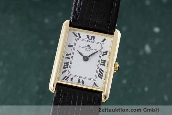 BAUME & MERCIER ORO DE 18 QUILATES CUERDA MANUAL KAL. BM775 LP: 6300EUR [162988]