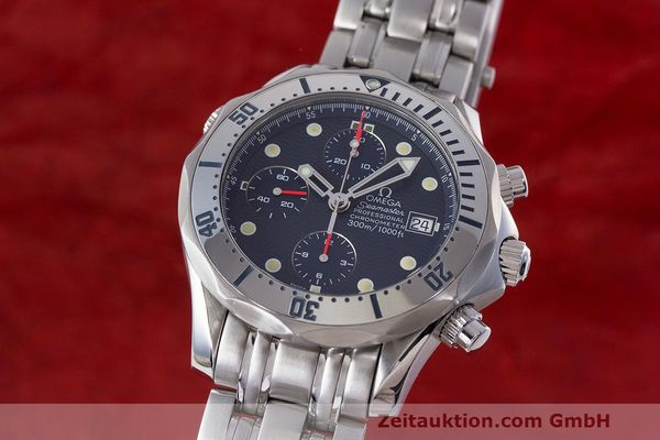 OMEGA SEAMASTER CHRONOGRAPH STEEL AUTOMATIC KAL. 1154 LP: 4800EUR [162990]