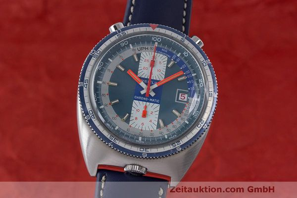 BREITLING CHRONO-MATIC CHRONOGRAPH STEEL AUTOMATIC KAL. 12 VINTAGE [162997]
