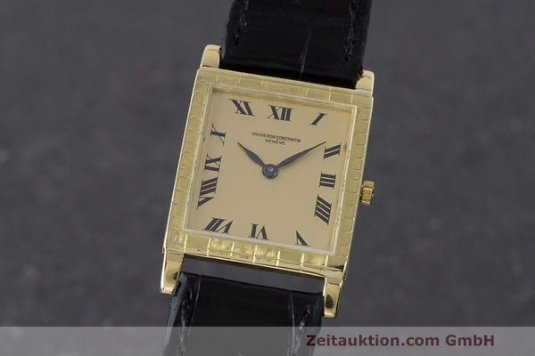 VACHERON & CONSTANTIN 18K (0,750) GOLD HANDAUFZUG MEDIUM CAL. 1003 VP: 28200,- Euro [163012]