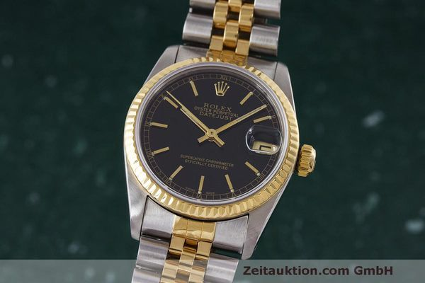 ROLEX DATEJUST STEEL / GOLD AUTOMATIC KAL. 2135 LP: 8750EUR [163019]