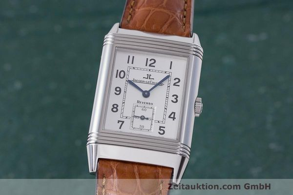 JAEGER LE COULTRE REVERSO STEEL MANUAL WINDING KAL. 822 LP: 6000EUR [163043]
