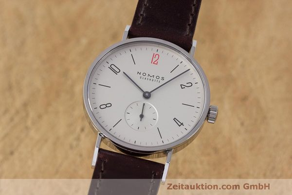 NOMOS TANGENTE STEEL MANUAL WINDING KAL. ALPHA [163044]