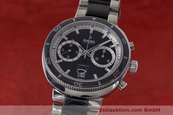RADO D-STAR CHRONOGRAPHE ACIER AUTOMATIQUE KAL. RC1 LP: 3050EUR [163057]