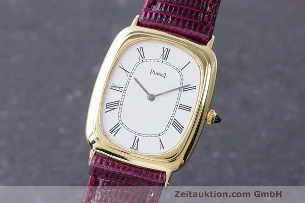 PIAGET 18 CT GOLD MANUAL WINDING KAL. 9P2 LP: 13600EUR [163067]