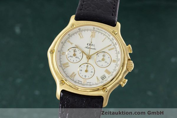 EBEL 1911 CHRONOGRAPH 18 CT GOLD AUTOMATIC KAL. 400 [163094]