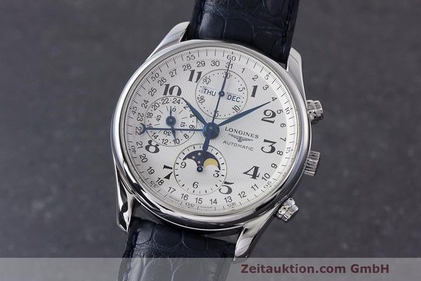 LONGINES MASTER COLLECTION CHRONOGRAPHE ACIER AUTOMATIQUE KAL. L678.2 ETA 7751 LP: 2770EUR [163105]