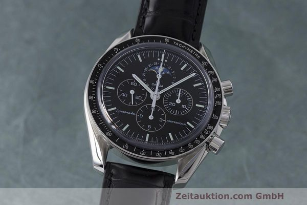 OMEGA SPEEDMASTER MOONWATCH PROFESSIONAL MONDPHASE 38765031 NP: 4800,- EURO [163110]