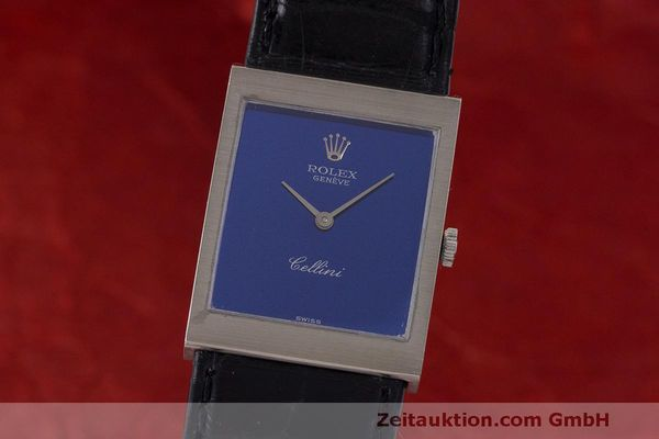 ROLEX LADY 18K WEISSGOLD CELLINI CLASSIC HANDAUFZUG MEDIUM 4014 VP: 4300,- Euro [163127]