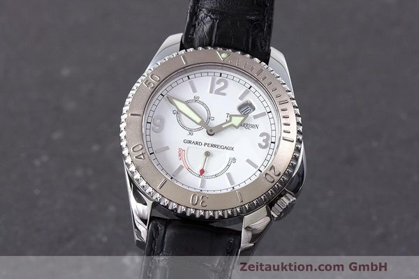 GIRARD PERREGAUX SEA HAWK II ACIER / OR  AUTOMATIQUE KAL. 330B LP: 9500EUR  [163135]