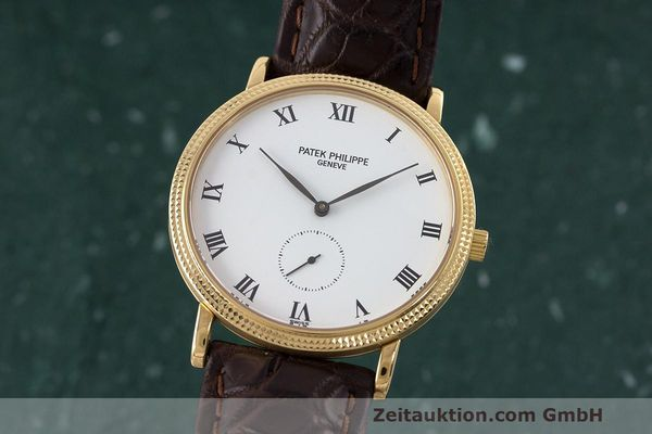 PATEK PHILIPPE CALATRAVA 18 CT GOLD MANUAL WINDING KAL. 215  [163142]