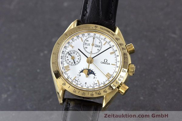OMEGA SPEEDMASTER CHRONOGRAPHE OR 18 CT AUTOMATIQUE KAL. 1150 LP: 14200EUR [163146]