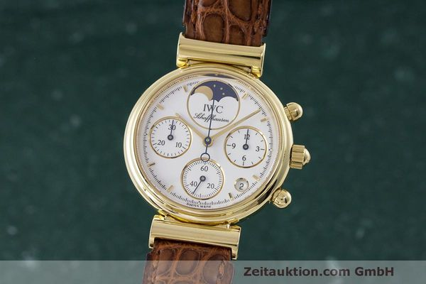 IWC DA VINCI CHRONOGRAPHE OR 18 CT QUARTZ KAL. 630/1 [163147]