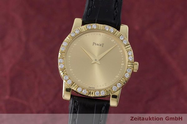 PIAGET DANCER 18 CT GOLD QUARTZ KAL. 8P2 LP: 12600EUR [163156]
