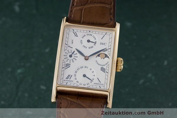 IWC NOVECENTO OR ROUGE 18 CT AUTOMATIQUE KAL. 32062 LP: 37300EUR [163158]