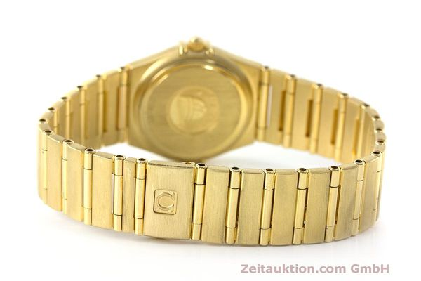 gebrauchte Luxusuhr Omega Constellation 18k Gold Quarz Kal. 1456 Ref. 11777500  | 163175 11
