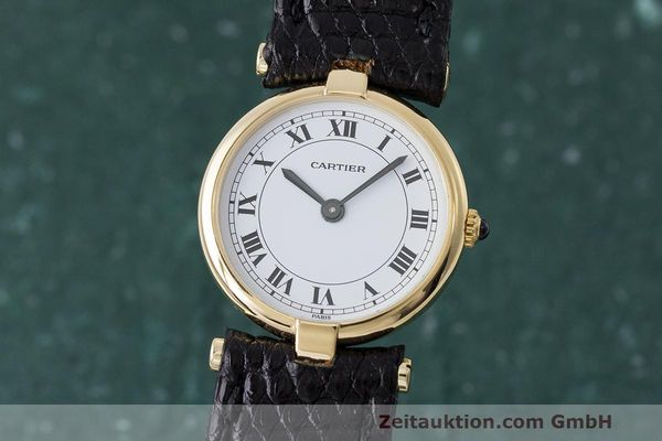 CARTIER ORO 18 CT QUARZO KAL. 81 [163180]