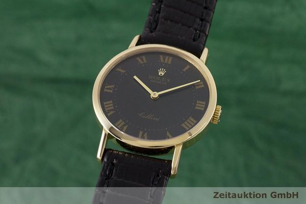ROLEX CELLINI 18 CT GOLD MANUAL WINDING KAL. 1601 LP: 4300EUR [163181]