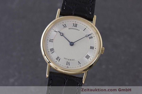 BREGUET CLASSIQUE 18 CT GOLD MANUAL WINDING KAL. 830 LP: 18100EUR [163191]