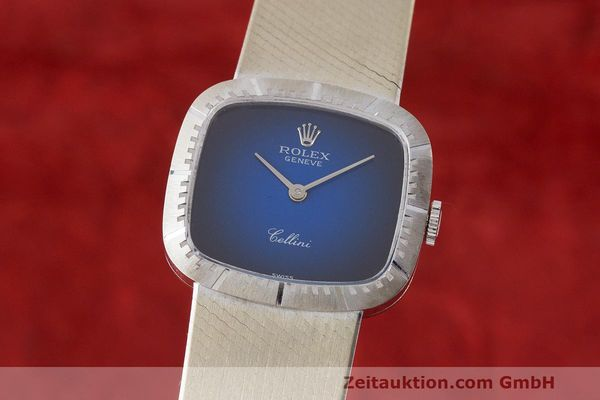 ROLEX CELLINI 18 CT WHITE GOLD MANUAL WINDING KAL. 1600 LP: 13350EUR [163199]