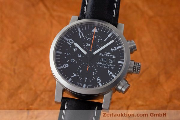 FORTIS SPACEMATIC CHRONOGRAPHE ACIER AUTOMATIQUE KAL. ETA 7750 LP: 2590EUR [163200]