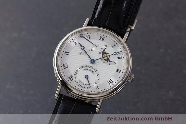 BREGUET CLASSIQUE 18 CT WHITE GOLD AUTOMATIC KAL. 502 LP: 35900EUR [163207]