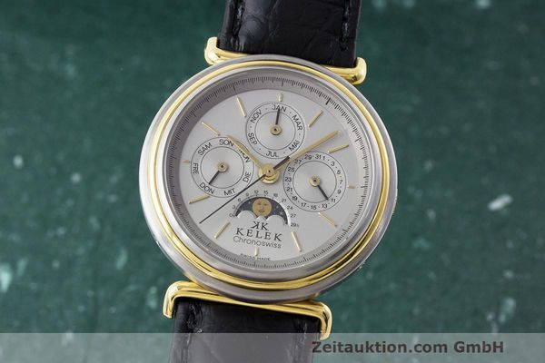 CHRONOSWISS KELEK ACIER / OR AUTOMATIQUE KAL. ETA 2892A2 [163209]