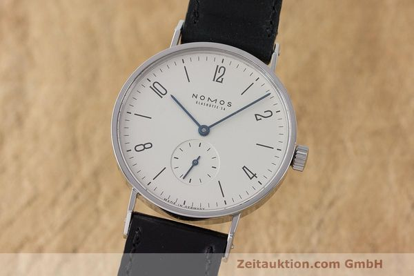 NOMOS TANGENTE STEEL MANUAL WINDING KAL. ETA 7001 LP: 1580EUR [163225]