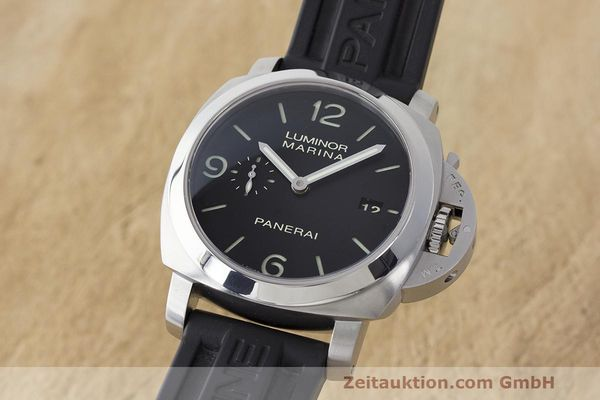 PANERAI LUMINOR MARINA 1950 3 DAYS PAM00312 AUTOMATIK STAHL HERRENUHR VP: 7000,- [163244]