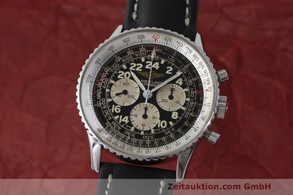 BREITLING NAVITIMER CHRONOGRAPH STEEL MANUAL WINDING KAL. LWO 1973 [163254]