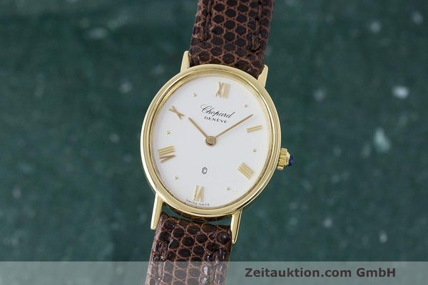 CHOPARD 18 CT GOLD QUARTZ KAL. 608 LP: 4260EUR [163277]