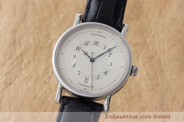 CHRONOSWISS KAIROS STEEL AUTOMATIC KAL. ETA 2892A2 LP: 3700EUR  [163281]