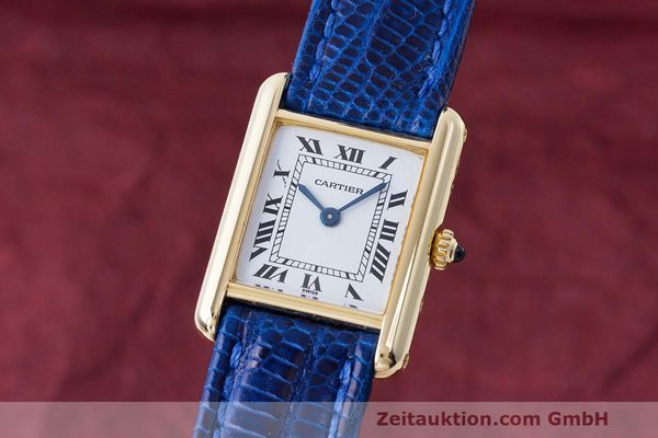 CARTIER TANK ORO 18 CT QUARZO KAL. 66 [163287]