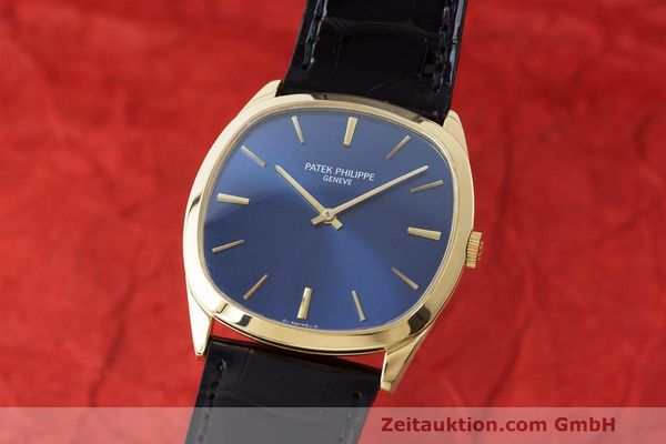 PATEK PHILIPPE 18K (0,750) GOLD ELLIPSE HANDAUFZUG 3544 HERRENUHR VP: 22140,- Euro [163311]