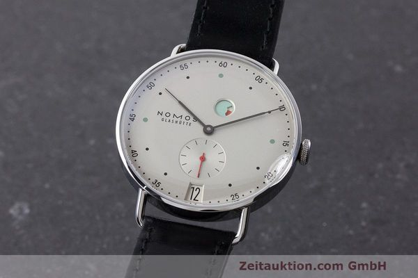 NOMOS METRO STEEL MANUAL WINDING KAL. DUW4401 LP: 2880EUR [163312]