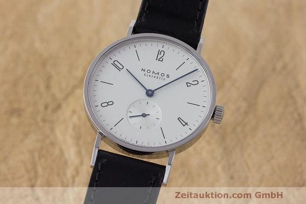 NOMOS TANGENTE STEEL MANUAL WINDING KAL. ALPHA LP: 1380EUR [163321]