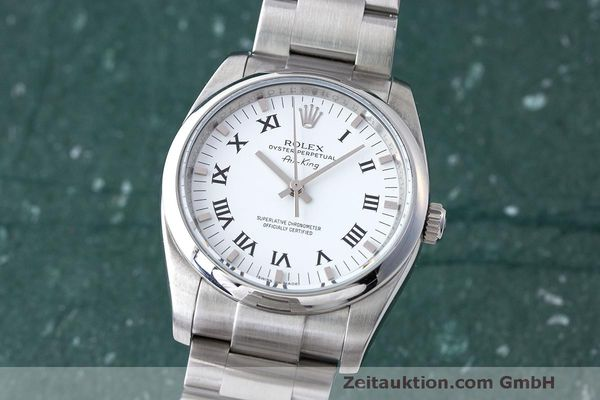 ROLEX AIR KING STEEL AUTOMATIC KAL. 3130 LP: 5650EUR [163326]