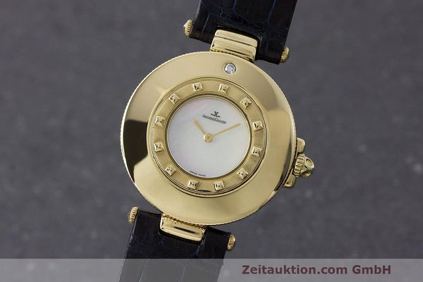 JAEGER LE COULTRE RENDEZ-VOUS 18 CT GOLD QUARTZ KAL. 609 LP: 10400EUR [163335]