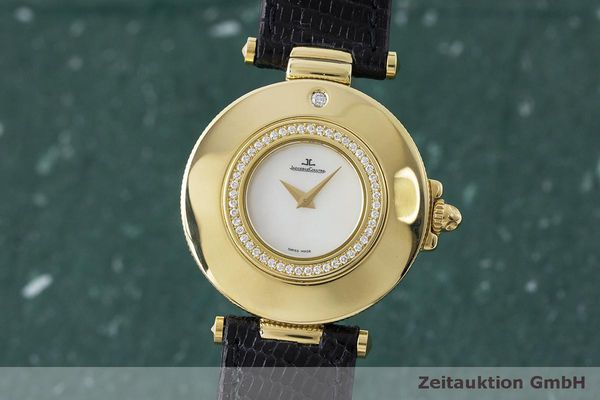 JAEGER LE COULTRE RENDEZ-VOUS 18 CT GOLD QUARTZ KAL. 609 LP: 14700EUR [163336]
